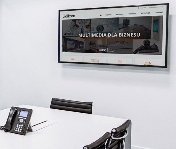 witryna dla Vidikom Katowice